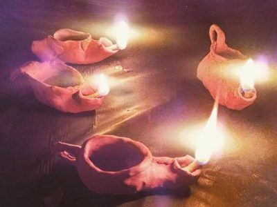 DIY oil Lamps